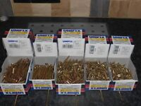 JOBLOT 10 BOXES OF WOOD SCREWS 30MM TO 75MM TIMBER DECKING FENCING
