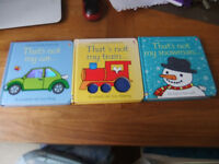 3 x That's Not My books All 3 For Only 50p