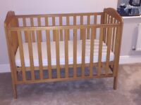 TAKELEY COT MOTHERCARE ON SALE