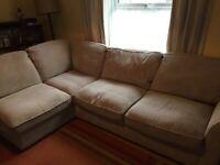 Oak furnitureland corner sofa