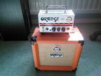 Orange Micro Terror amp and matching cab