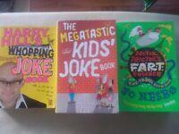 KIDS JOKE BOOKS X3