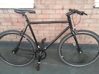 Black single gear bike NOT carrera specialilzed trek giant