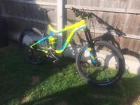 Giant reign full suspension mountain bike