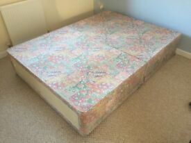 Double Bed Divan Base (with storage)