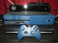 """x box one """" forza edition """" 1 TB with """" kinect """" and 28 games ..!"""
