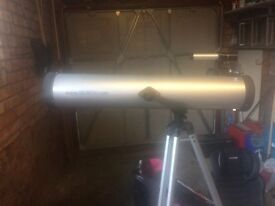 Seben telescope on stand