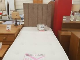 Electric single bed & mattress