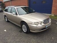 2001 ROVER 75 CONNOISSEUR 2.0 CDT TOURER BMW TDI - FULLY LOADED - NEW MOT - CLEARANCE BMW