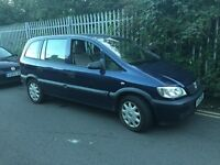 7 seats Diesel Vauxhall Zafira ideal family mob , pxs welcome