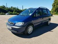 Gorgeous zafira family 7 seater new timing belt and chain 96000 m 1.6 £899 bargain