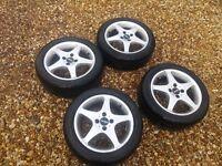 Set of alloy wheels VW golf