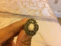 Silver jewellery ring for sale in immaculate condition, hardly ever worn and has a nice shine