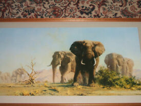 DAVID SHEPHERD OBE - THE IVORY IS THEIRS .