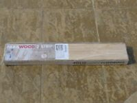 Solid hard wood flooring (Less than half price, boxes never openned)