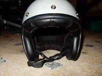 Bell Custom 500 Grey Open Face Helmet Motorcycle Size XL