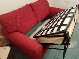 2 Seater Sprung Sofa Bed