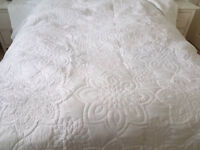 Marks and Spencer White Bedspread