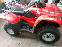 honda 420 4x4 selectable 2012 low hours