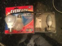 Set of lightbulbs bulbs x7