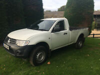 2014 Mitsubishi L200 Single Cab, 47000 miles, one owner