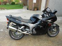 EXCELLANT HONDA SUPER BLACKBIRD 1137XX ONLY 8700 MLS FSH