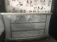 Cracked glass drawers