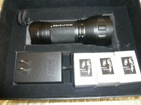 Wolf Eyes Storm 3 Cree Led Tactical Flashlight
