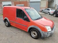 2006 FORD TRANSIT CONNECT 1.8 TDDI T200 LX SWB VAN RED 12 MONTHS MOT