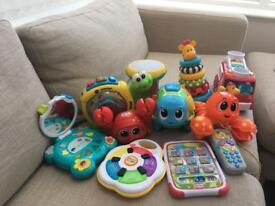 Bulk Lot! Toys - for ages 0-2 years
