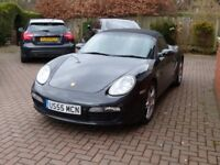PORCHE BOXSTER 987 2.7,BLACK,FULL SERVICE HISTORY, SAT NAV SYSTEM, 1 PREVIOUS OWNER