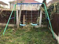 Kids Garden Double Swing