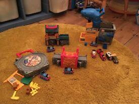 Thomas the tank take and play sets
