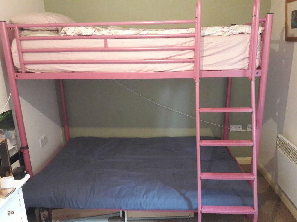 Jay Be Triple Bunk Bed Price Reduce To 50 For Quick Sale In