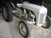 1941 FORD FERGUSON 9N TRACTOR FOR SALE WITH PERIOD FORD FERGUSON PLOUGH