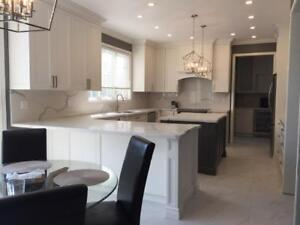 Hamilton's Finest !Completely Custom Kitchen Renovations for the price of IKEA. But CUSTOM!