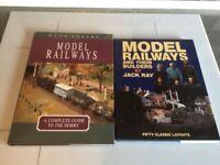 RAILWAY AND MODEL RAILWAY BOOKS x 37