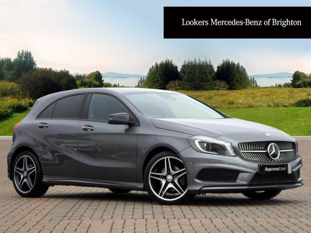 mercedes benz a class a200 cdi amg night edition grey. Black Bedroom Furniture Sets. Home Design Ideas