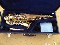 Yamaha alto saxophone custom ex875 Immaculate condition (barely used)