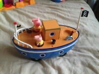 Peppa Pig Boat Toy