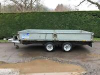 Ifor Williams lm125 12ft dropside trailer