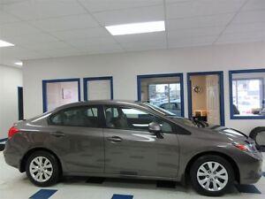 2012 Honda Civic LX 5 VITESSE FULL ÉQUIPE BLUETHOOTH 77900 KM !