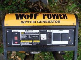 WOLF 3100LR GENERATOR