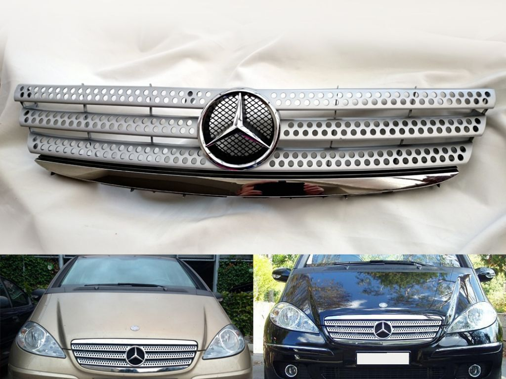 mercedes a class sport front grill w169 evo turbo. Black Bedroom Furniture Sets. Home Design Ideas