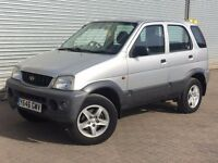 2001 DAIHATSU TERIOS, 1.3, MAY 2017 MOT, GREAT LITTLE CAR THAT DRIVES GREAT.