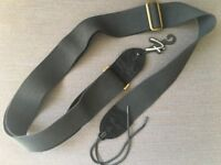 Fender guitar strap (Black in vintage look)