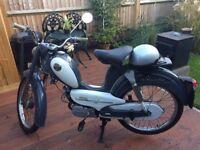 Vintage Sparta Sachs Saxonette Moped (Circa 1968)