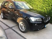 2011 BMW X3 Diesel xDrive SE Auto FSH 83k Black Leather