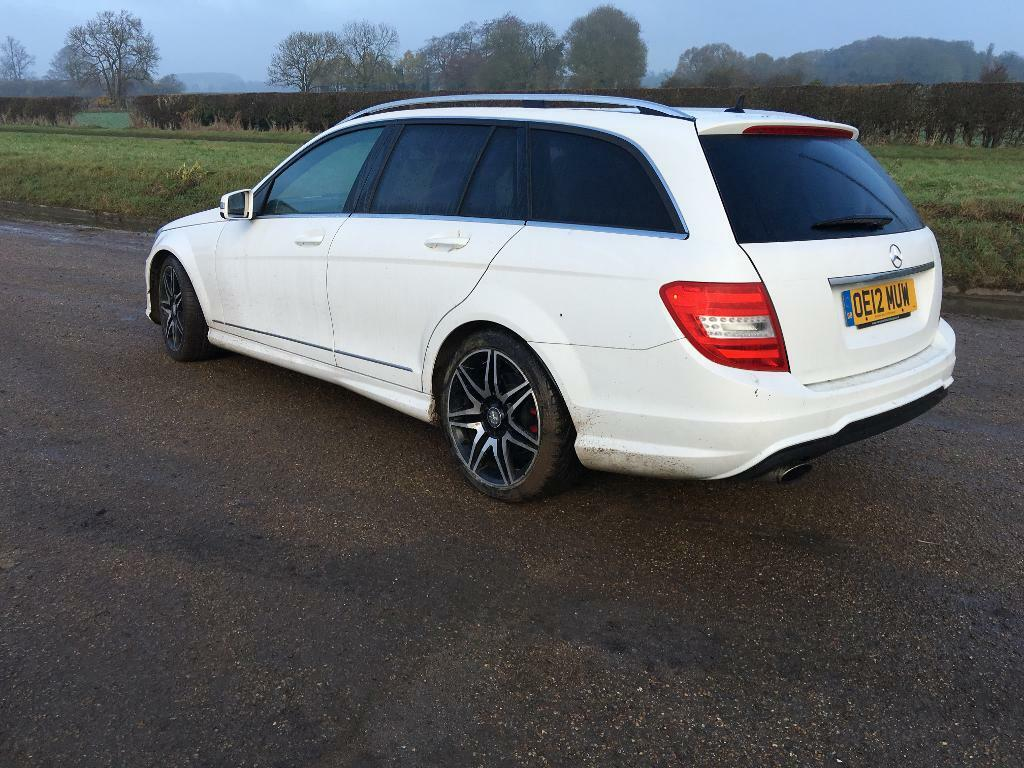 C 200 cdi amg 2012 estate special edition auto satnav leather welcome px