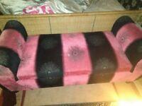 Chezlounge pink and black